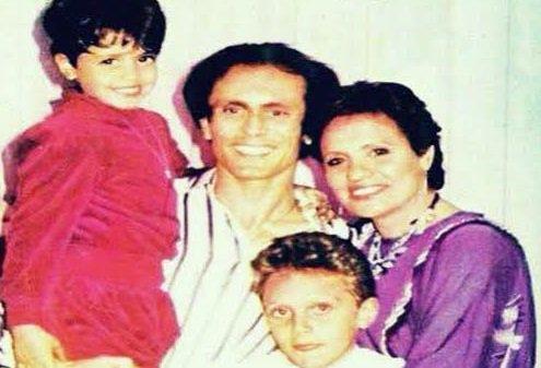 محمد صبحي وزوجته