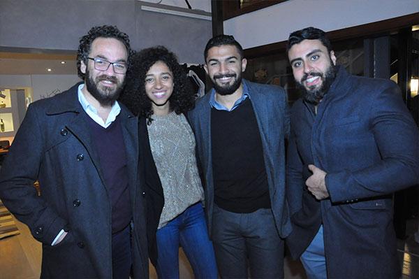حنان ترك و مي نورالشريف ونجوم الاعلام فى ضيافة الاعلامى كارم محمود