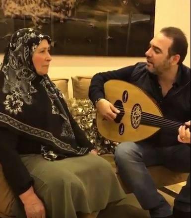 وائل جسار ووالدته