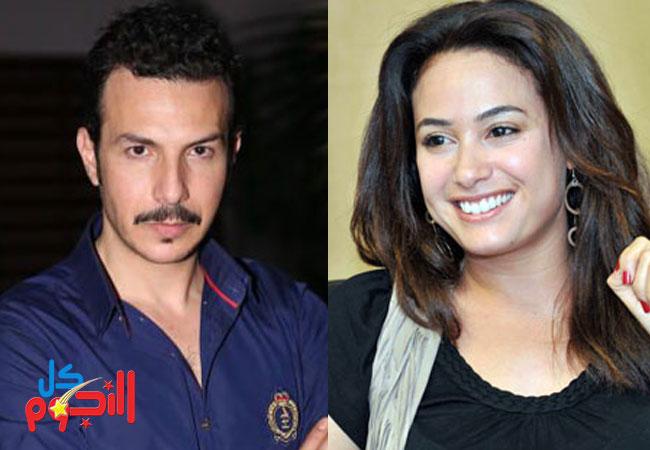 هند صبري و باسل خياط  - بارزة