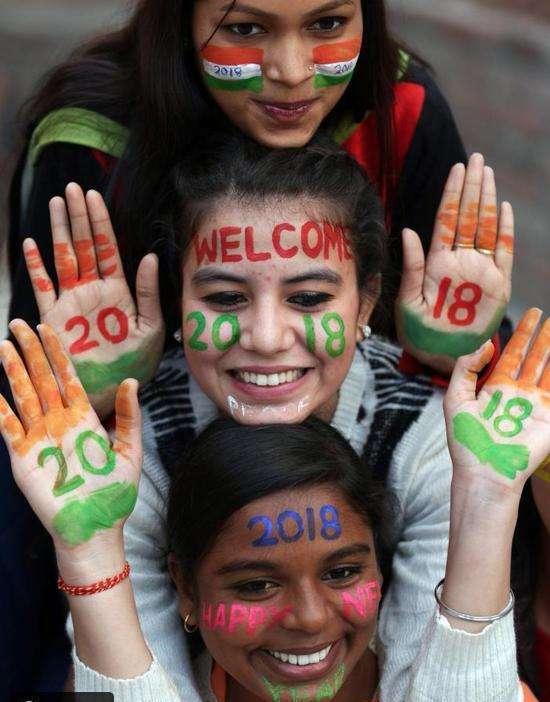 جانب من الاحتفالات في الهند