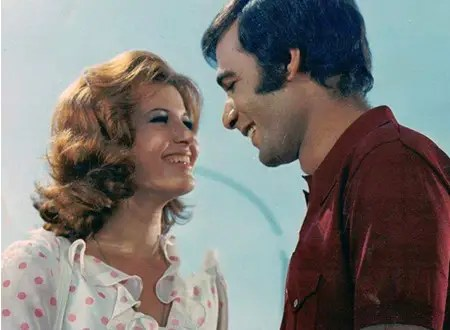 ميرفت أمين ومحمود ياسين في سينما السبعينات رومانسية