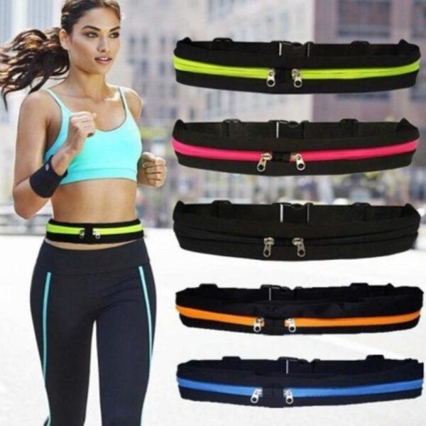 Invisible Sporty Belt Waist Bag