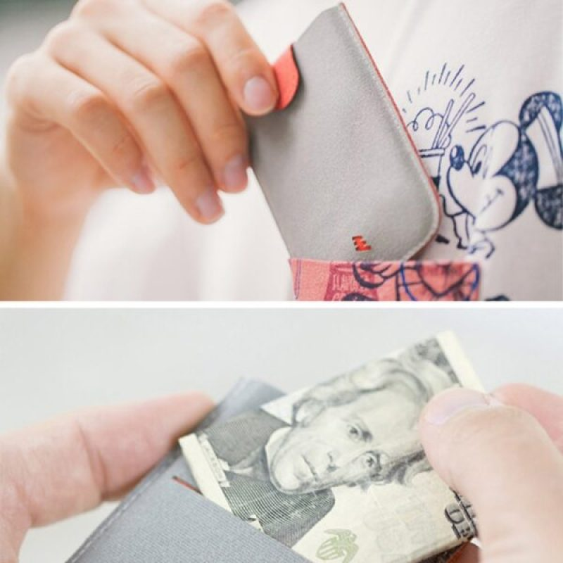 Accessible Gradient Card Holder Wallet