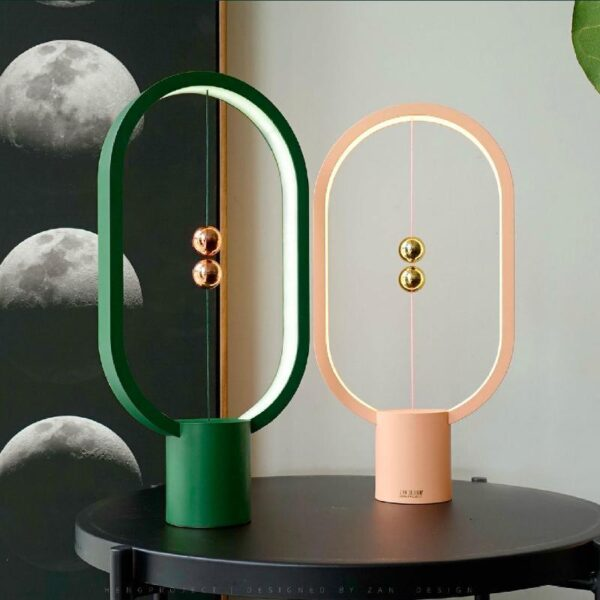 Intelligent Magnetic Suspension LED Lamp