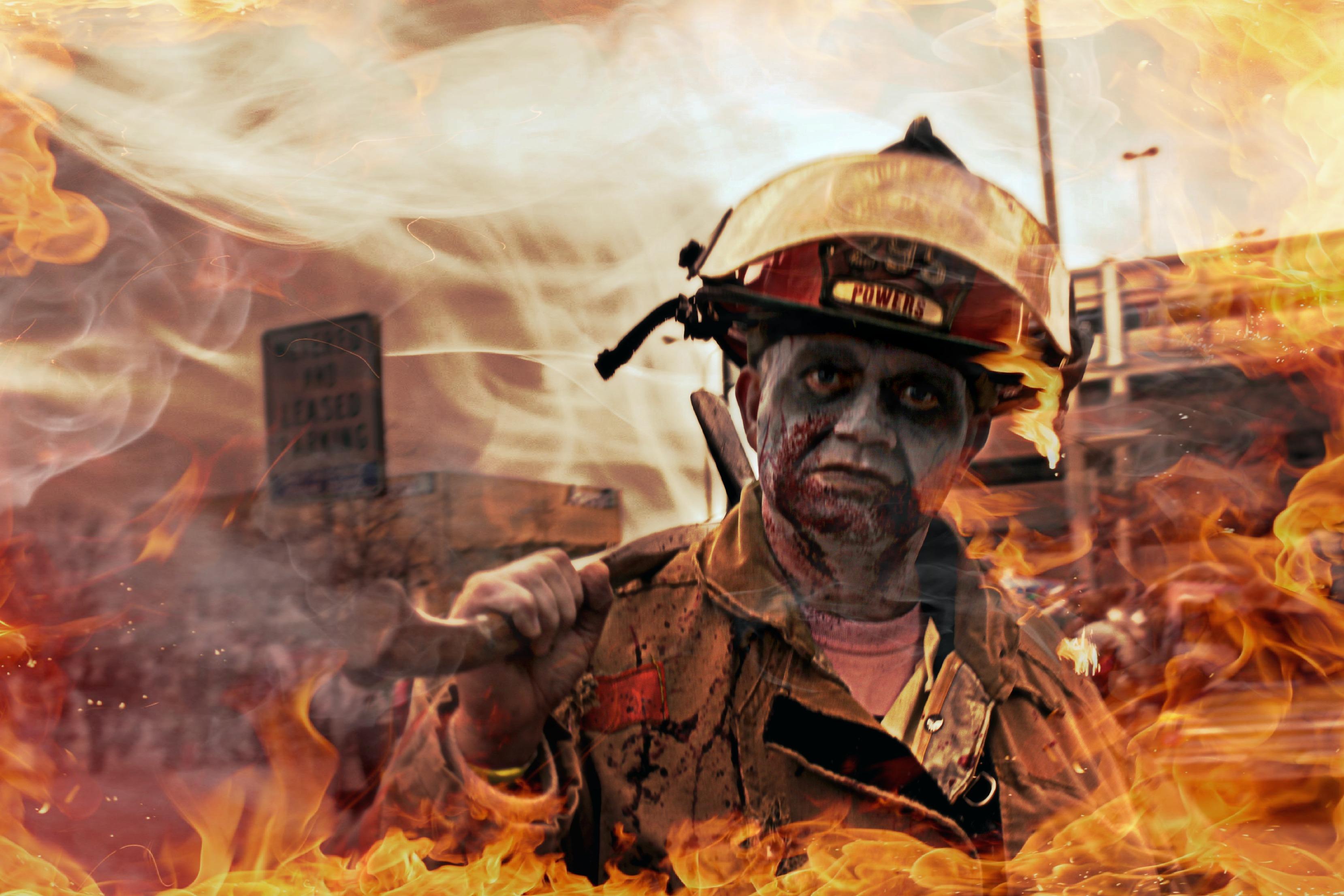 Wallpaper Sioux Falls Zombies Kollphotography