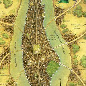 Tar Valon mapa