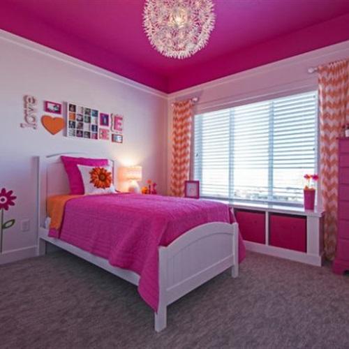 بالصور للبنات فقط 10 تصميمات لغرف النوم باللون البينك