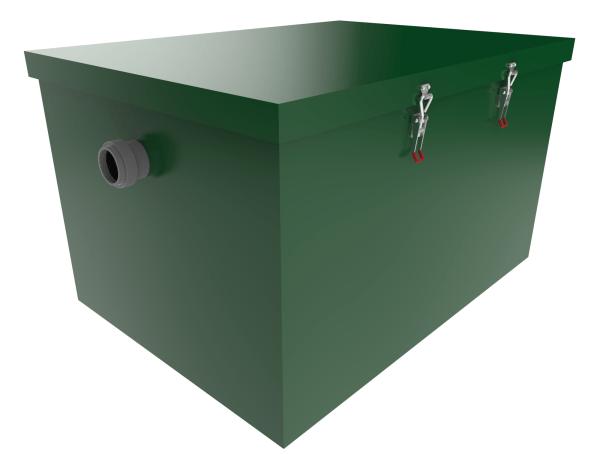 Жироуловитель TUK 1,25-90