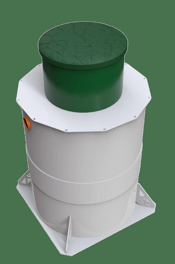 септик 3d-model Zörde 4