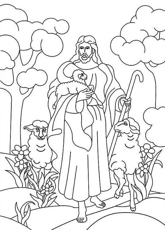Kolorowanki dla dorosłych: Religijne do wydruku, część 1