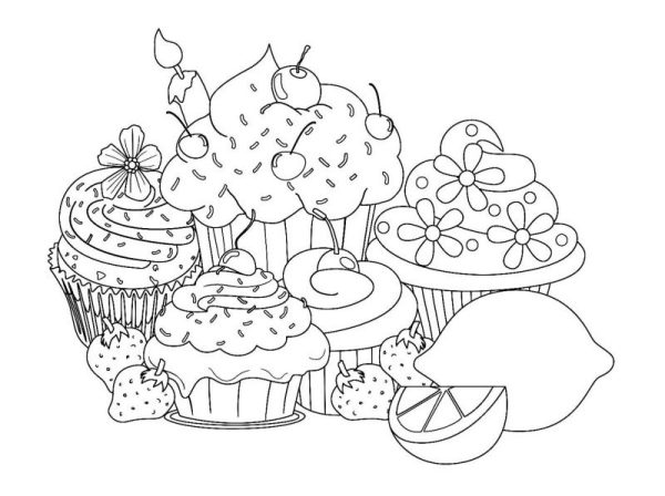 20 Pretty Sweets Girls Printable Coloring Pages Ideas And