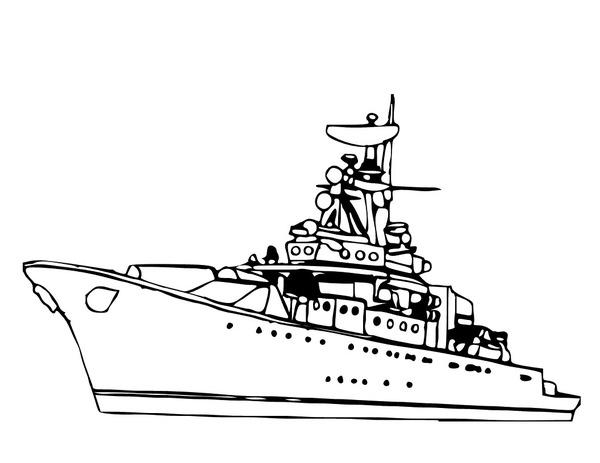 Statek wojenny