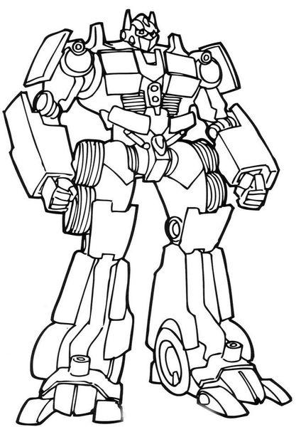 Kolorowanka Transformers Do Drukowania