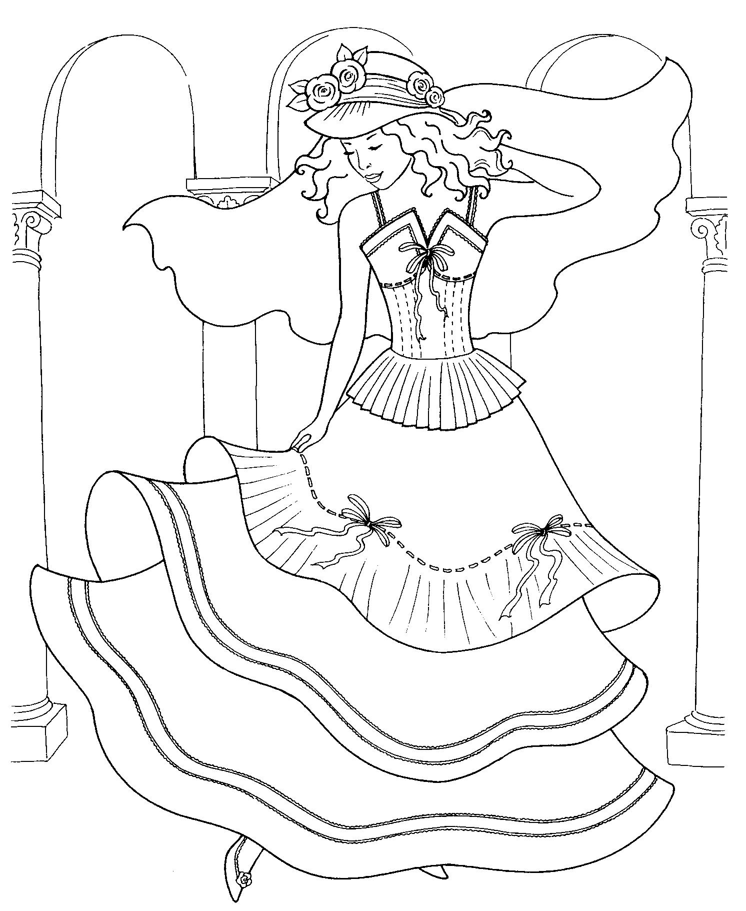 Princess Brides Disney Coloring Book