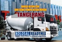 Harga Beton Cor Tangerang Per M3 Terbaru 2020