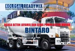 Harga Beton Cor Jayamix Bintaro Per M3 Terbaru 2020