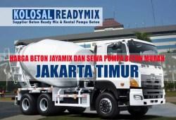Harga Beton Cor Jayamix Jakarta Selatan Per M3 Terbaru 2020