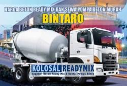 Harga Beton Ready Mix Bintaro Per M3 Terbaru 2020