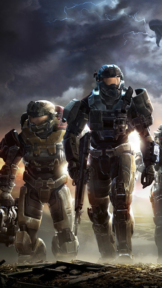 Halo Reach Wallpaper 4k : reach, wallpaper, Reach, Wallpaper, Iphone, KoLPaPer, Awesome, Wallpapers