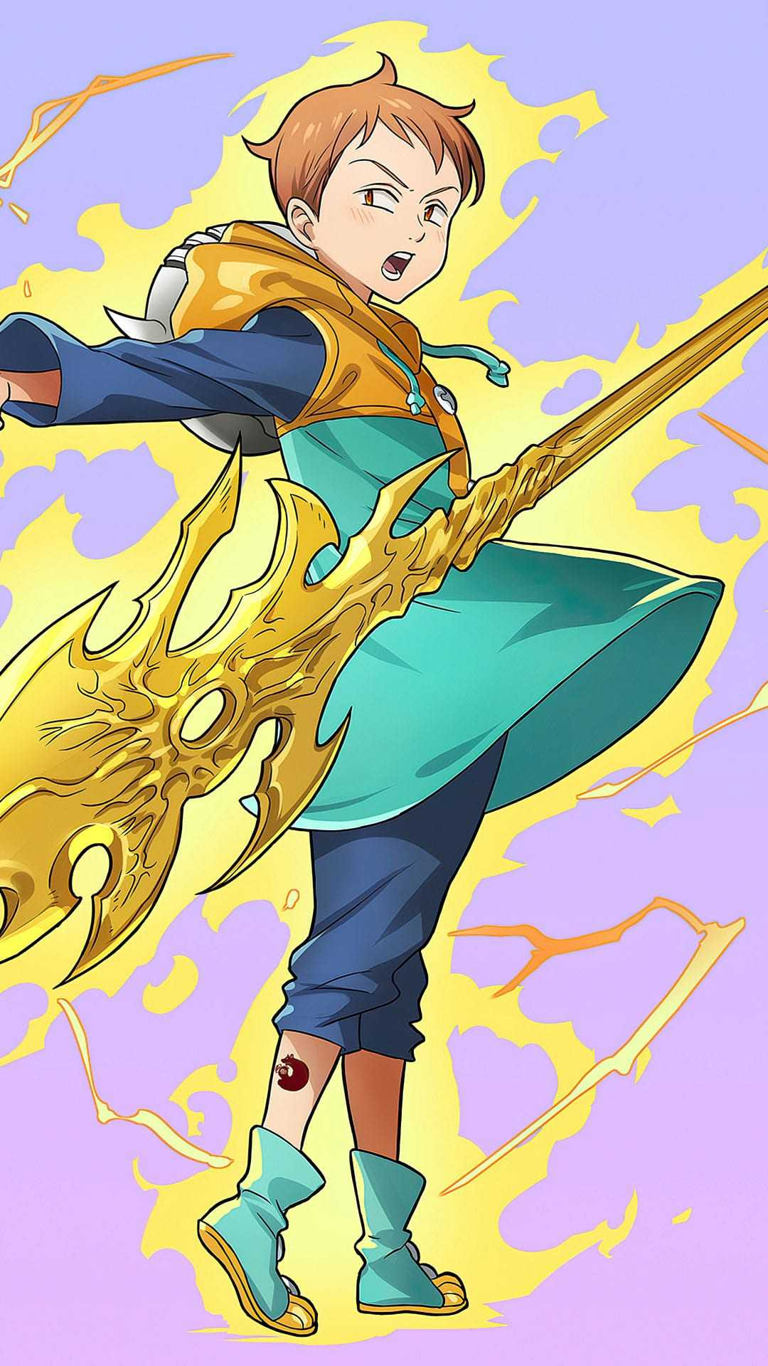 King The Seven Deadly Sins : seven, deadly, Seven, Deadly, Wallpaper, KoLPaPer, Awesome, Wallpapers