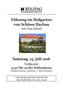 Einladung Dachau