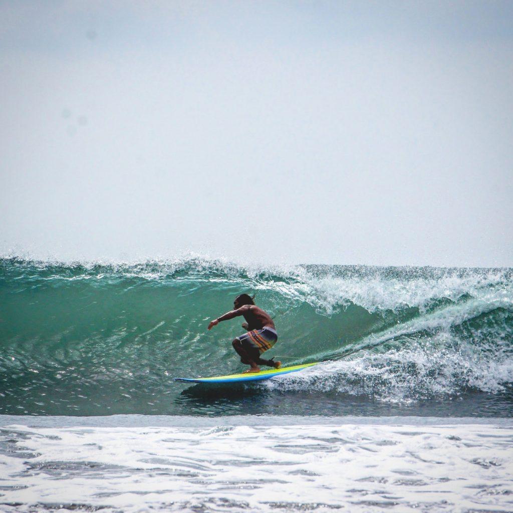 Surfen in Kolumbien