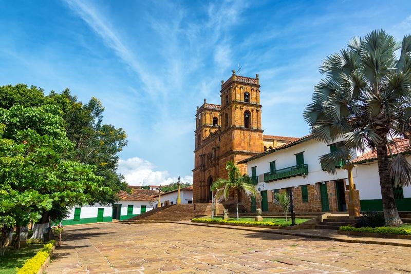 Barichara Kolumbien Pueblo