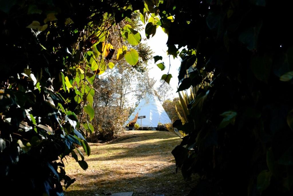 El Monte Teepee Hostel Kolumbien Reise