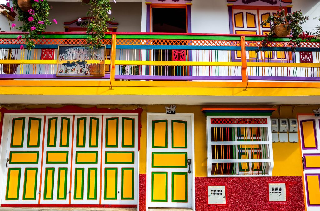 Farben Reise durch Kolumbien, Jerico