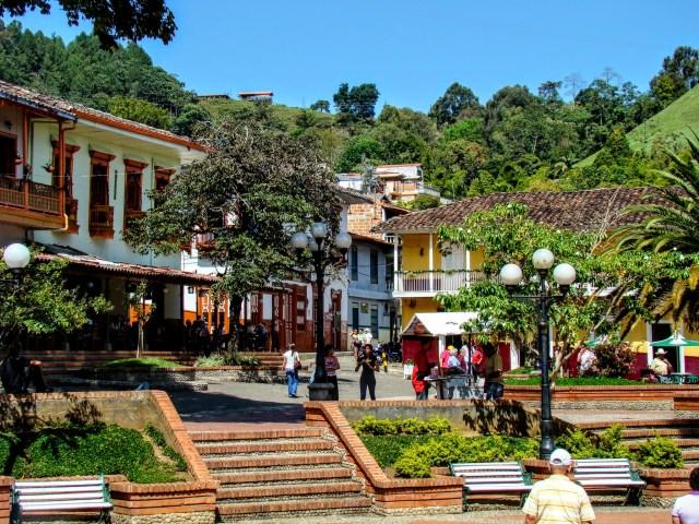 Jericó Antioquia Stadtzentrum