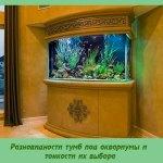 Разновидности тумб под аквариумы и тонкости их выбора