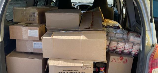 25 семей поселка Сокол получили продуктовые наборы по программе помощи семьям с детьми и беременным женщинам