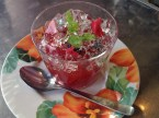 (6) Bramble jelly (350yen). Photo by author.