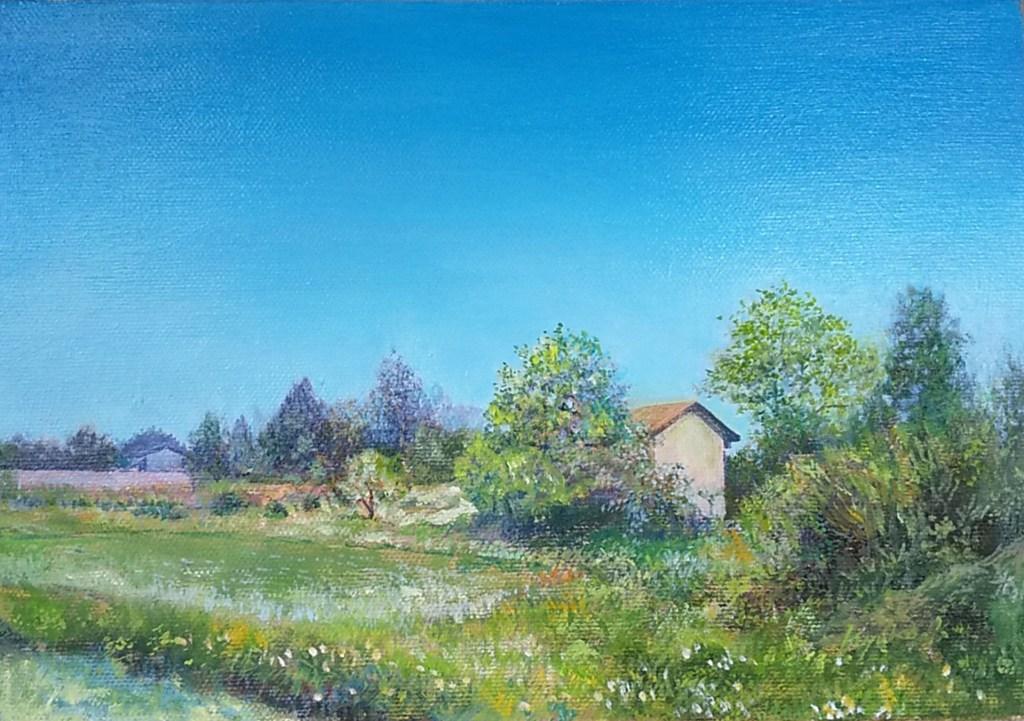 油絵の風景画