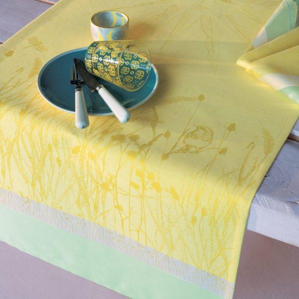 ガルニエ・ティエボー シャンドブレ イエロー テーブルランナー