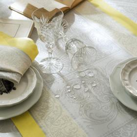 ガルニエ・ティエボー アレクサンドリーヌ ミモザ テーブルランナー