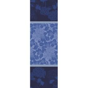 ガルニエ・ティエボー オルテンシア ブルー テーブルランナー