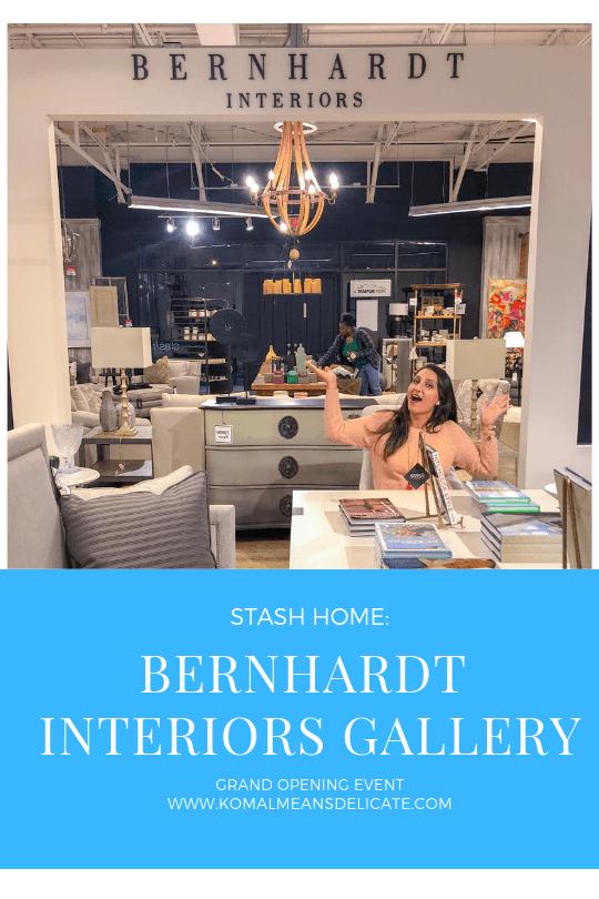 Stash Home: Bernhardt Interiors Gallery Grand Opening Event