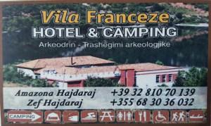 Vila franceze hotel dhe kamping