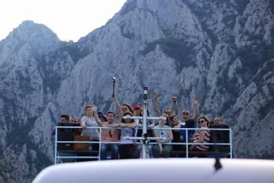 Ferry Berisha in Koman Lake (13)