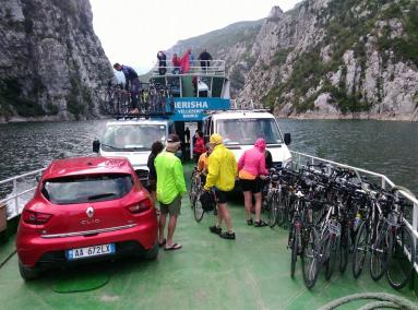 Ferry Berisha in Koman Lake (20)