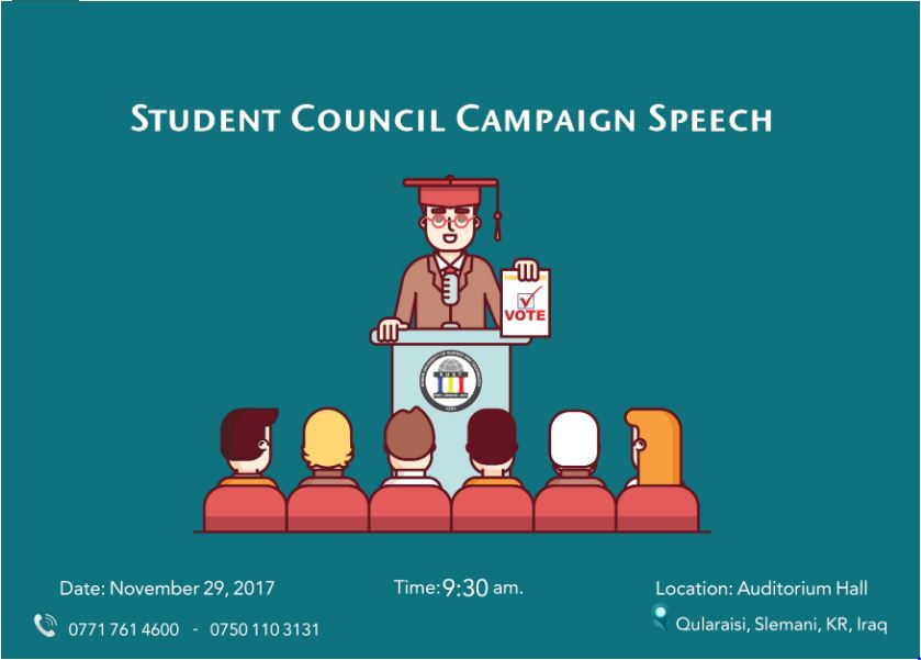 Student Council Campaign Speech