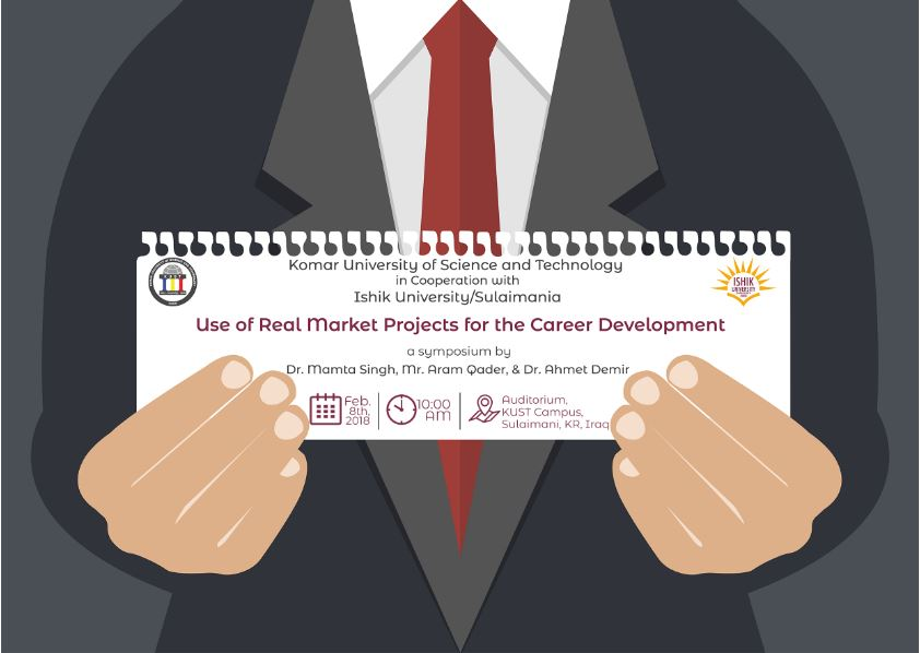 Use of real market projects for the career development