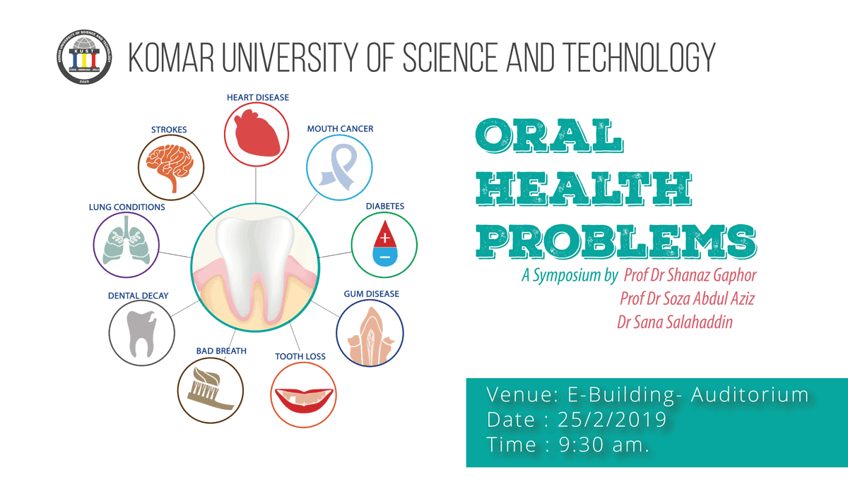 Oral-Health-Problems-symposium-at-Komar-University