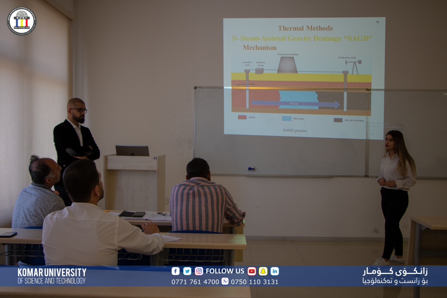 Department of Petroleum Engineering at KUST has organised viva sessions for evaluation three graduation projects