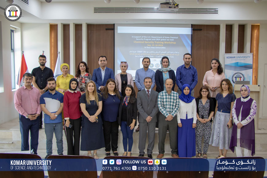 Komar University Holds Chemical Security Training with CRDF Global and US Government