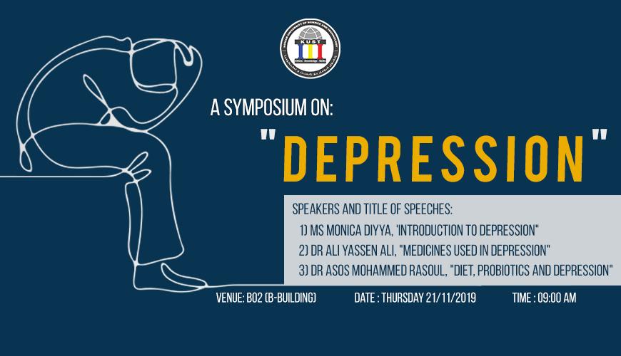 a symposium on Depression