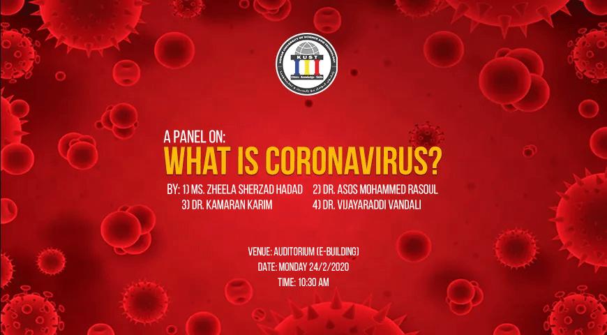 Seminar about coronairus