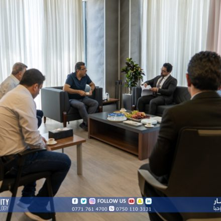 A delegation from the KRG-MHE visited KUST
